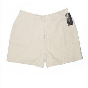 NWT Xhilaration 20W high rise waist khaki shorts
